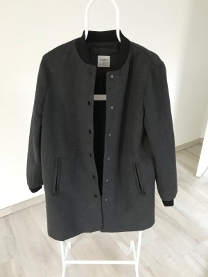 Vero Moda Bomberjacke/-mantel grau/schwarz