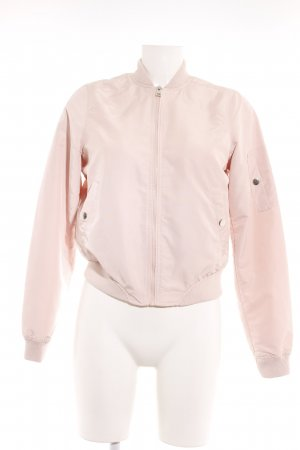 Vero Moda Bomberjacke rosé Romantik-Look
