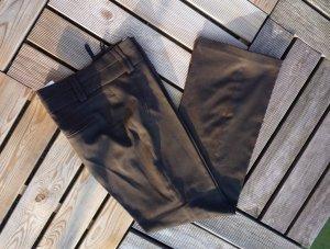 Vero Moda Pantalon en jersey brun foncé