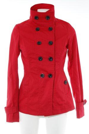 Vero Moda Pea Jacket red casual look