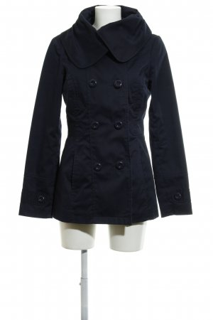 Vero Moda Heavy Pea Coat dark blue casual look