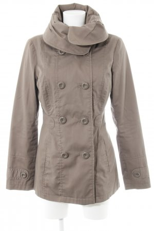 Vero Moda Heavy Pea Coat light brown business style