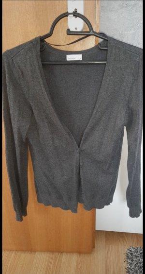 Vero Moda Cardigan tricotés gris anthracite
