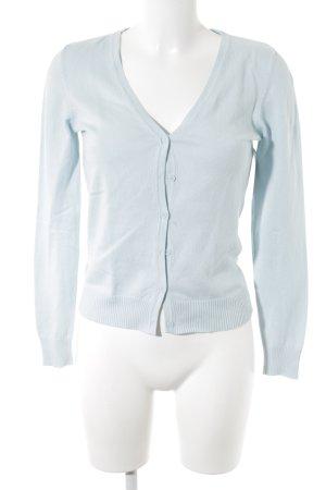 Vero Moda Cardigan babyblau Casual-Look