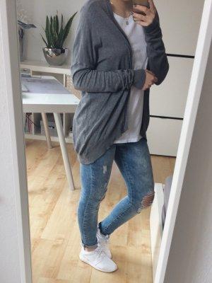 Vero Moda Cardigan Jacke grau dunkelgrau Gr. XS/S