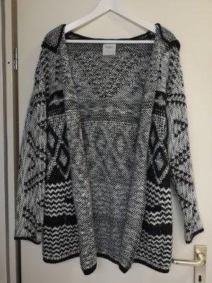 Vero Moda Cardigan in maglia nero-bianco sporco