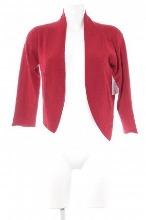 Vero Moda Cardigan rot Street-Fashion-Look