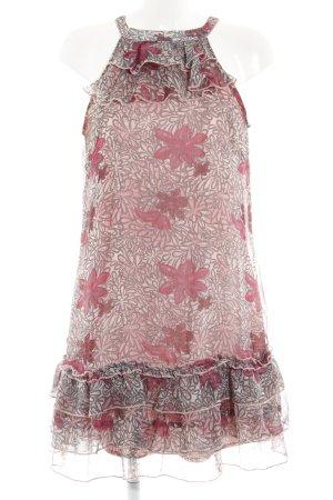 Vero Moda Chiffonkleid abstraktes Muster Romantik-Look