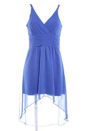 Vero Moda Vestido de chifón azul Nudos decorativos