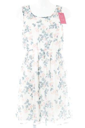 Vero Moda Chiffonkleid Blumenmuster Casual-Look
