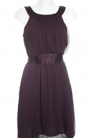 Vero Moda Chiffonkleid dunkelviolett Casual-Look
