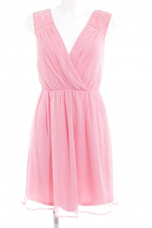 Vero Moda Chiffonkleid rosa Party-Look