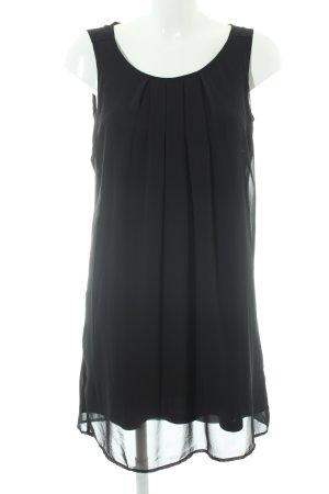 Vero Moda Chiffonkleid schwarz Elegant