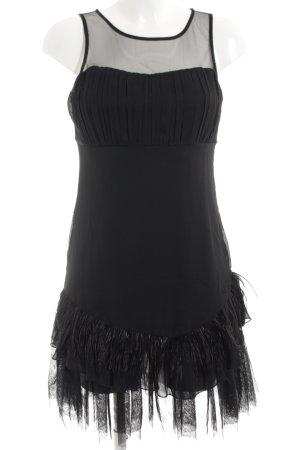 Vero Moda Cocktailkleid schwarz extravaganter Stil