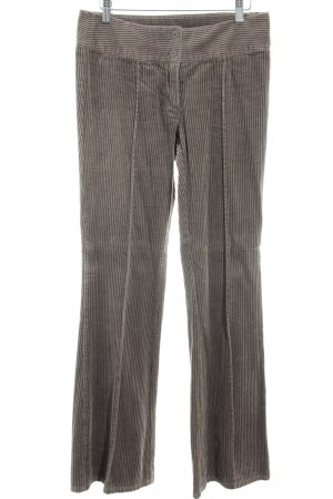 Vero Moda Corduroy Trousers grey brown Brit look
