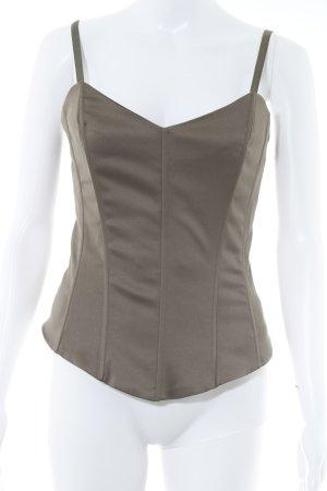 Vero Moda Bustino marrone-grigio stile stravagante