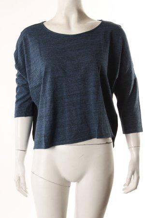 Vero Moda Crop-Shirt blau-grün schwarz