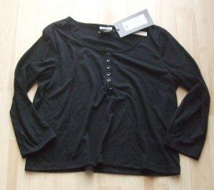 VERO MODA Cropped Shirt - schwarz - Gr. M