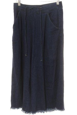 Vero Moda Pantalone culotte blu stile casual