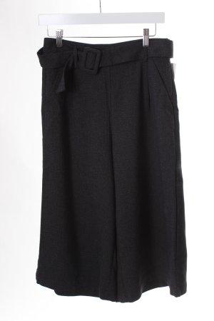 Vero Moda Culottes schwarz-grau meliert klassischer Stil