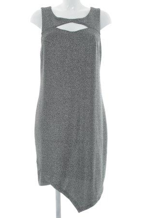 Vero Moda Cut-Out-Kleid mehrfarbig Glitzer-Optik