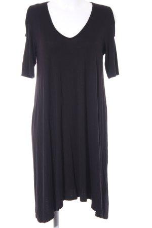 Vero Moda Cut-Out-Kleid schwarz schlichter Stil