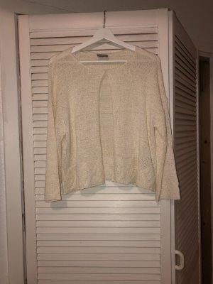 Vero Moda Boléro en tricot blanc cassé