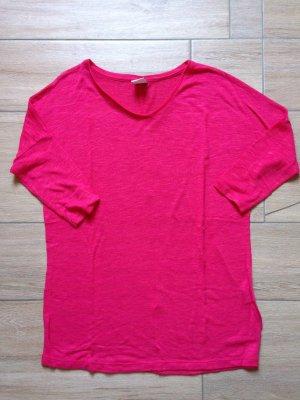 Vero Moda Damen Shirt 3/4-ärmlig Größe S kirschrot