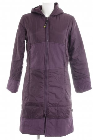 Vero Moda Daunenmantel braunviolett Casual-Look