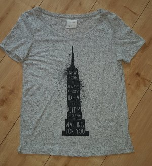 Vero Moda Demim Shirt New York City Tee S 36