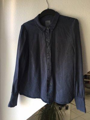 Vero Moda Denim Bluse, dunkelblau, XL