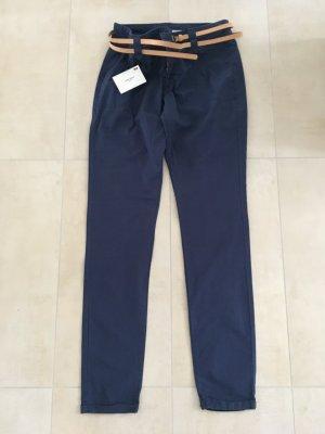 Vero Moda Pantalone cargo blu-blu scuro
