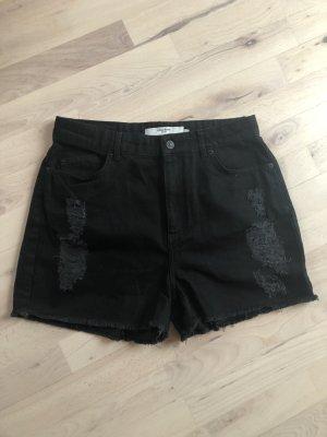 Vero Moda Pantaloncino di jeans nero