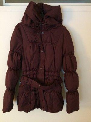 Vero Moda dicke Jacke in einem schönen Beerenton Gr S