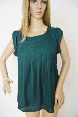 Vero Moda dunkelgrüne Bluse gr.Medium
