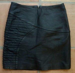 Vero Moda - Echt- Lederrock - L - high waist -