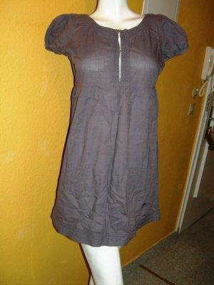 Vero Moda Vestido corte imperio púrpura Algodón