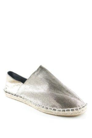 Vero Moda Espadrille sandalen goud Metalen look