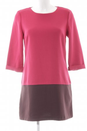Vero Moda Etuikleid braunrot-himbeerrot Elegant