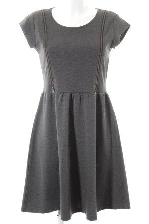 Vero Moda Etuikleid grau schlichter Stil
