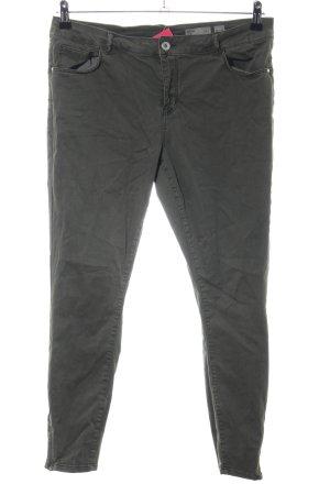 Vero Moda Pantalon cinq poches kaki style décontracté