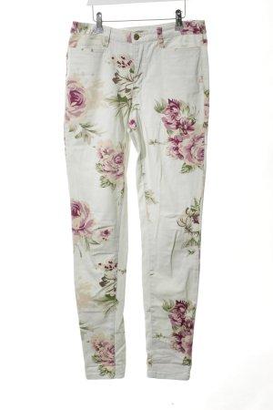 Vero Moda Pantalone cinque tasche motivo floreale stile da moda di strada