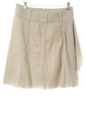 Vero Moda Fringed Skirt beige casual look