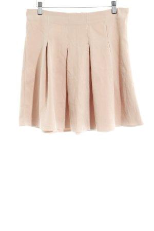 Vero Moda Godet Skirt nude casual look