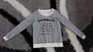 Vero Moda Gr.XS/34 Sweatshirt Pullover Pulli Shirt Hoodie Sweat Langarm streifen