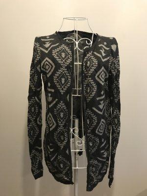 Vero Moda - Grauer Cardigan mit Muster
