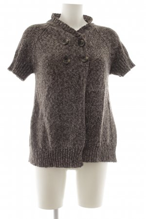 Vero Moda Coarse Knitted Jacket natural white-grey lilac flecked casual look