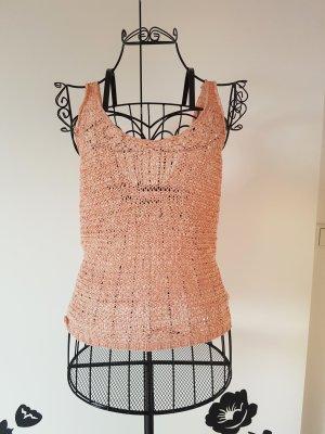 Vero Moda Crochet Top pink