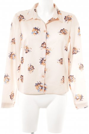 Vero Moda Hemd-Bluse Blumenmuster Casual-Look