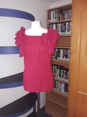 Vero Moda Hemd Bluse T-Shirt,Gr. L 40 tunika top Neu Oberteil Pliesse Shirt